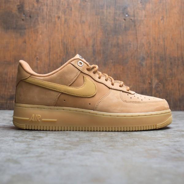 Nike Men Air Force 1 07 Wb (flax / wheat-gum light brown-black)