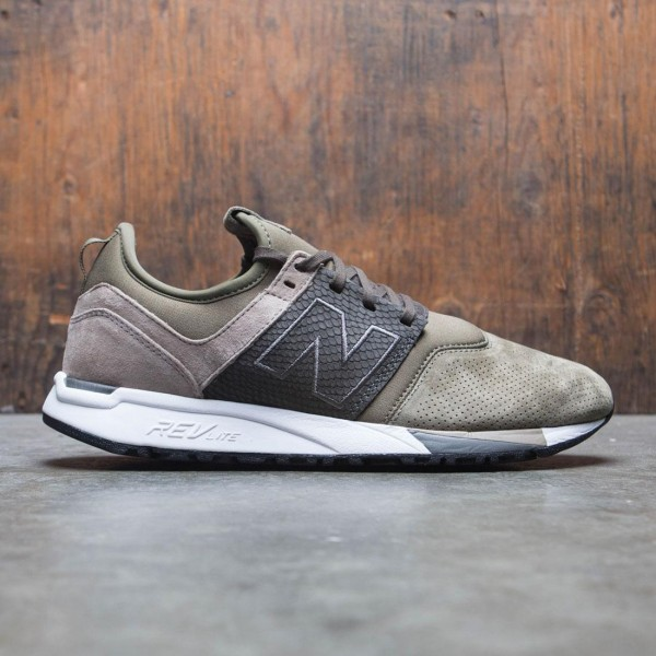 New Balance Men 247 Luxe MRL247RG (olive / military green / beige)