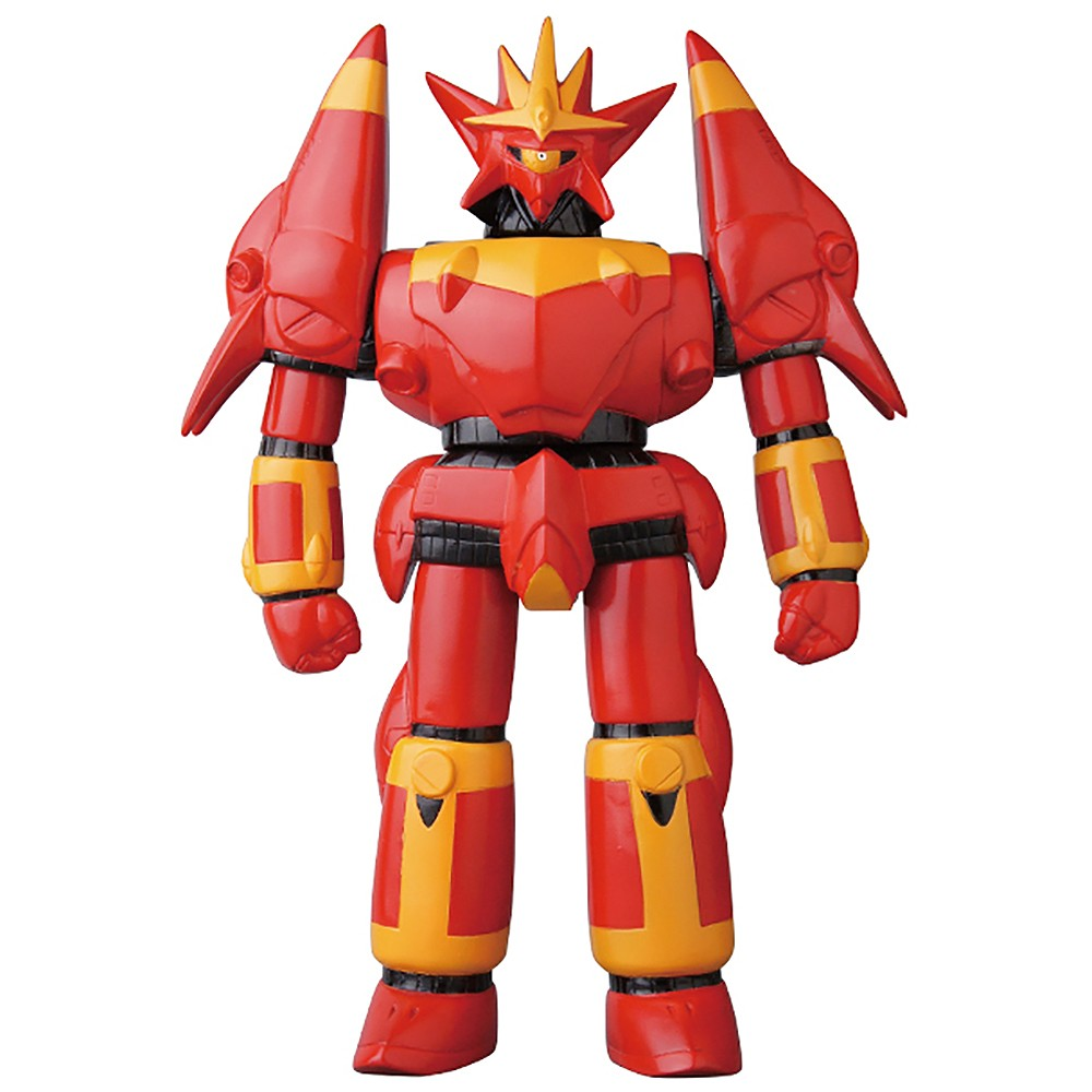 PREORDER - Medicom Dynamite Collection Gunbuster Flame Ver. Sofubi Figure (red)