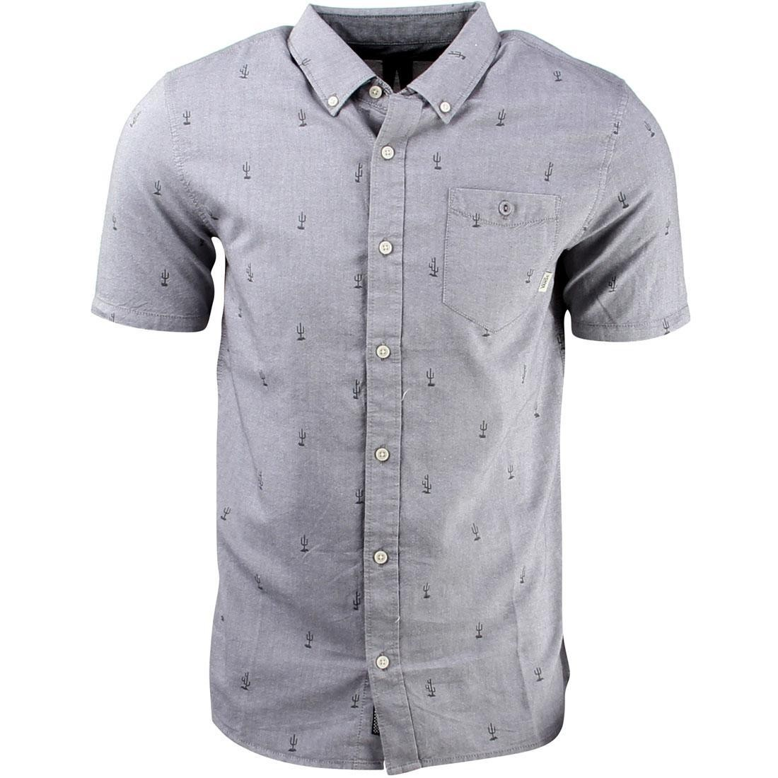 Vans Houser Short Sleeve Shirt (gray / gravel tucson)