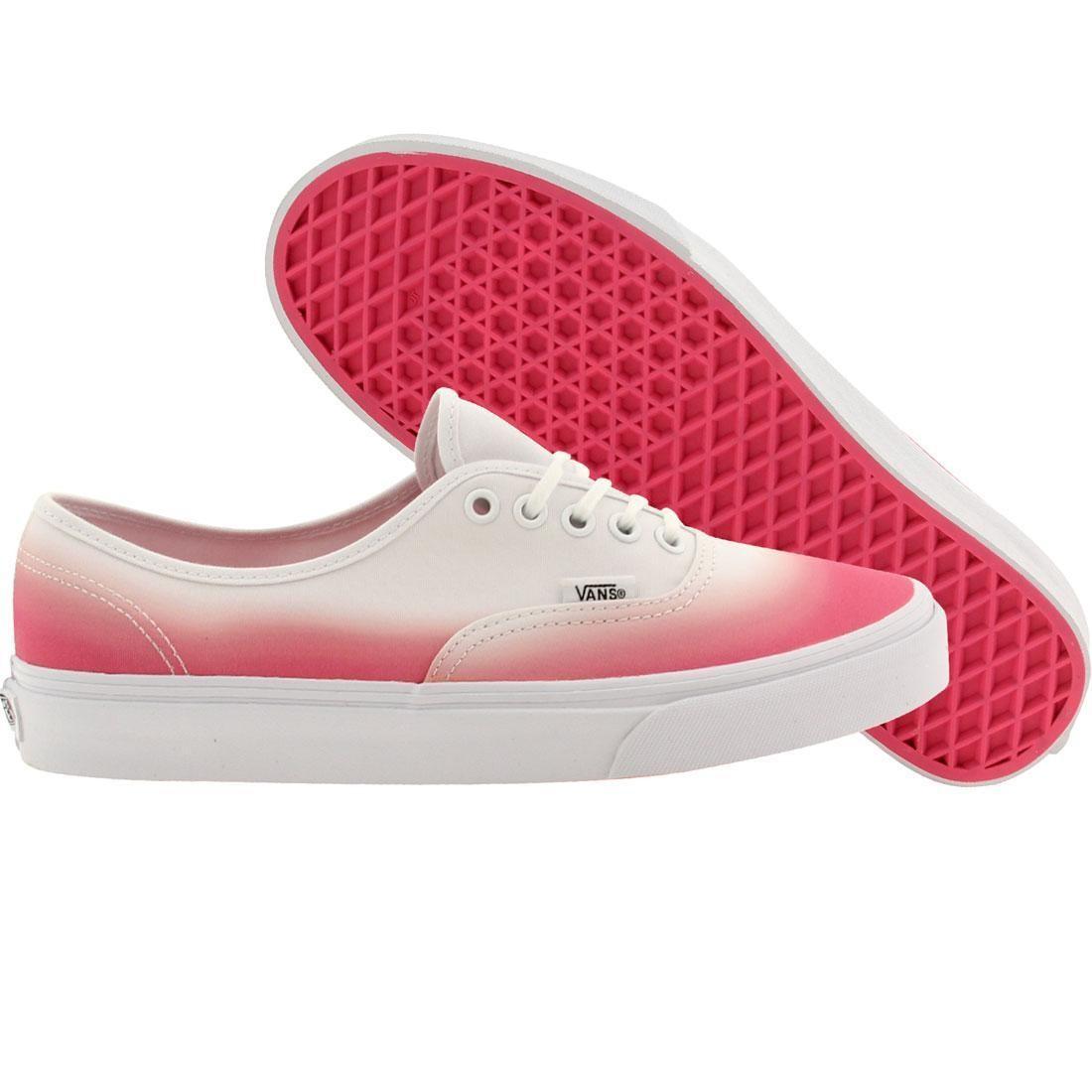 Vans Men Authentic - Ombre pink white