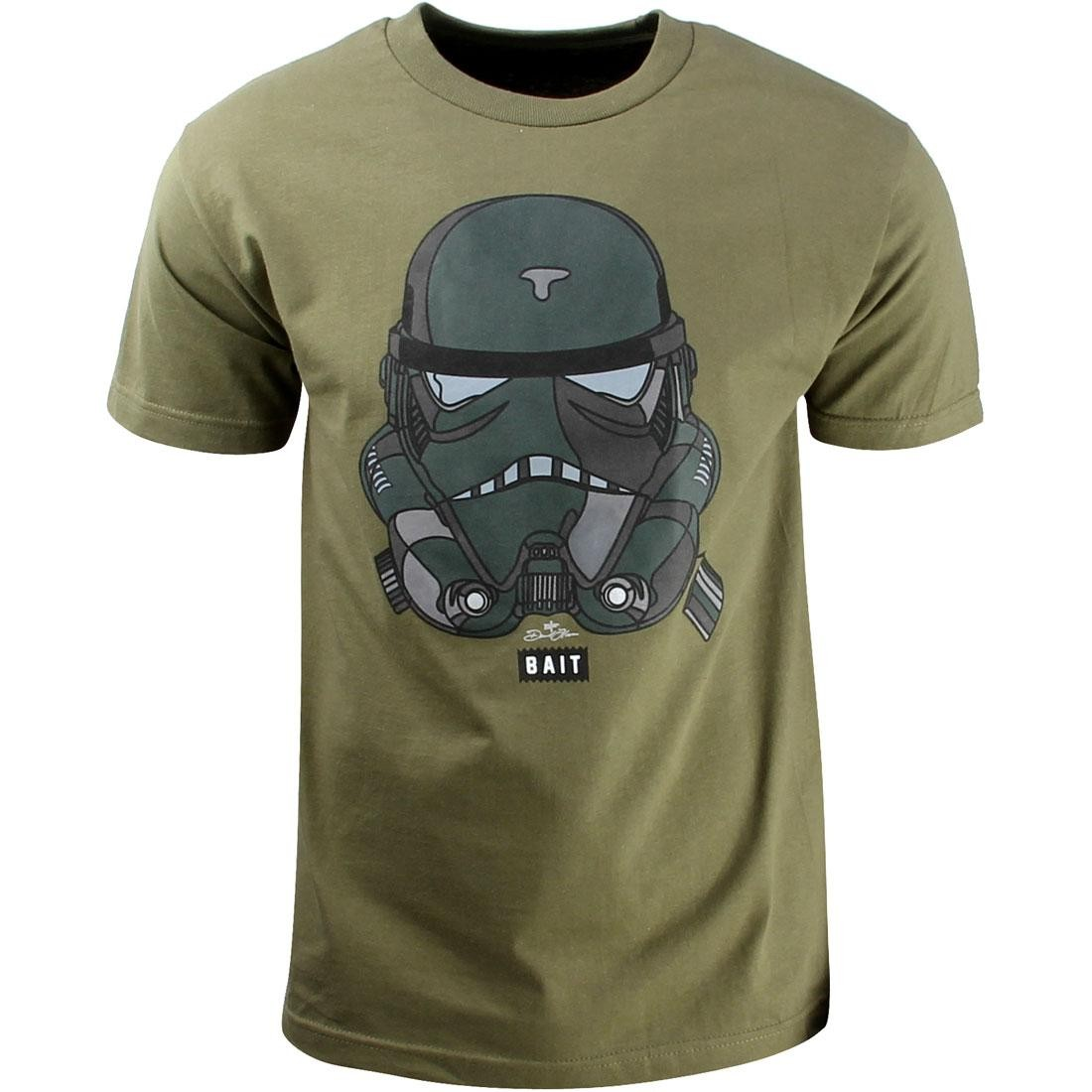 BAIT x David Flores Trooper Tee (green / military)