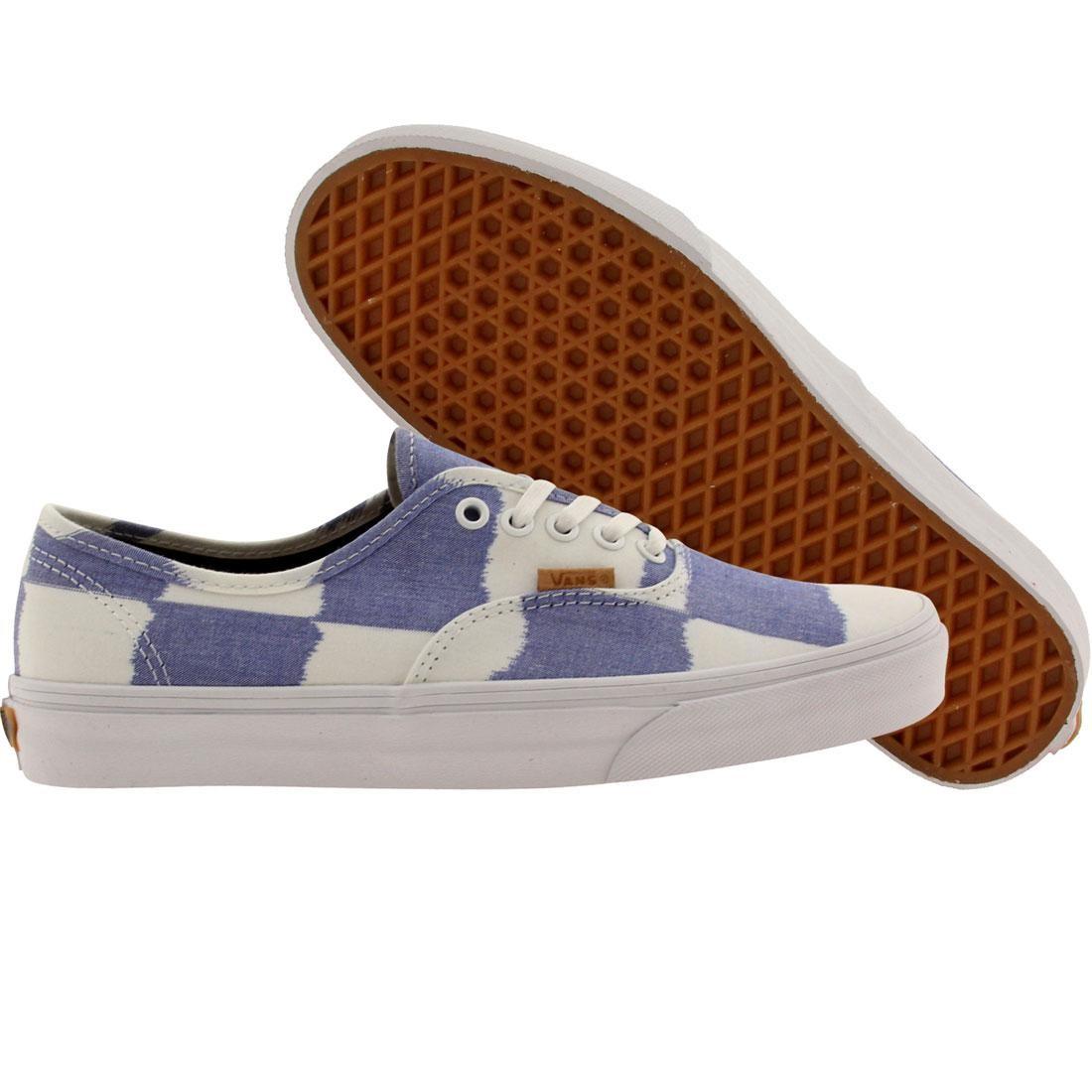 Vans Men Authentic - Glitch Check (blue / white)