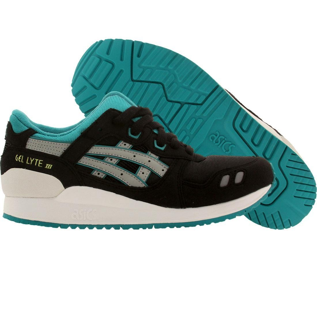 2d3697b00ee2 Asics Big Kids Gel Lyte III GS black light gray