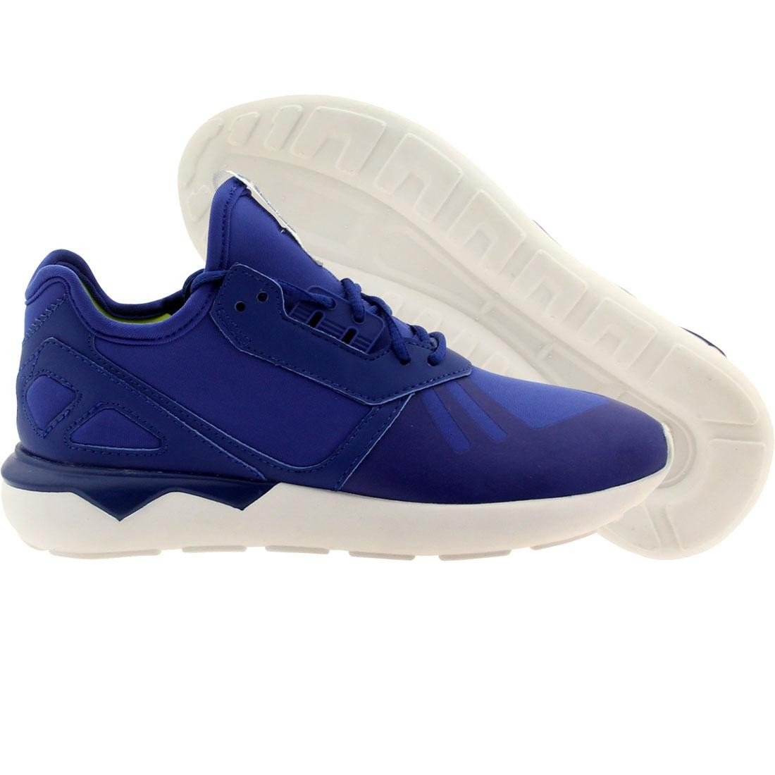 Adidas Big Kids Tubular Runner (blue / croyal)