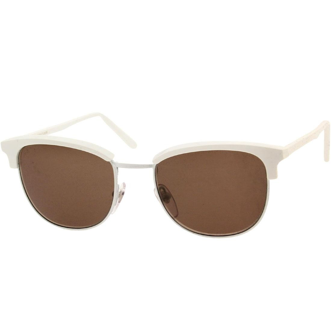 Super Sunglasses Terazzo - Crociera (silver / brown)