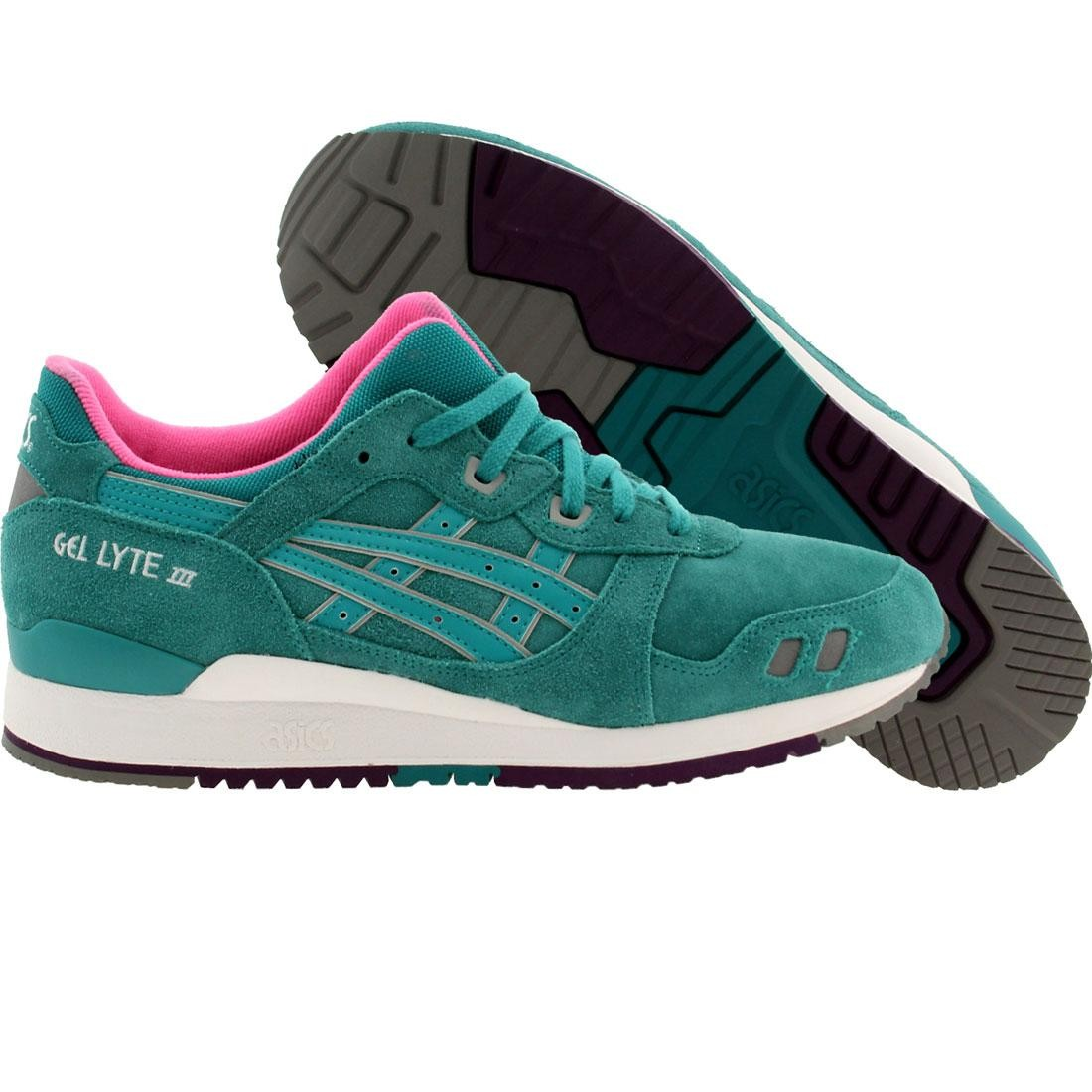 Asics Tiger Men Gel Lyte III  (teal / tropical green / tropical green)