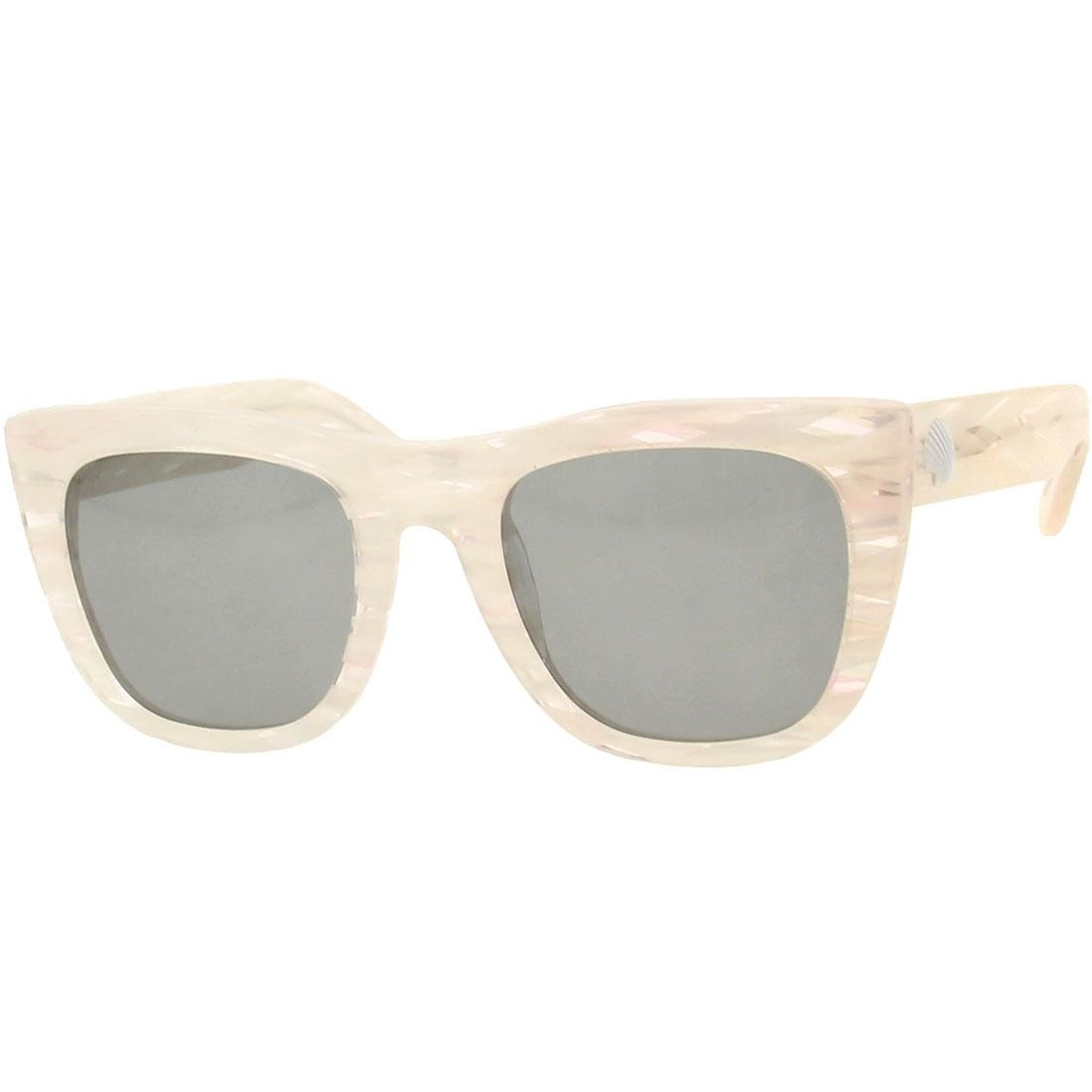 Super Sunglasses Gals Marina (white / clear)