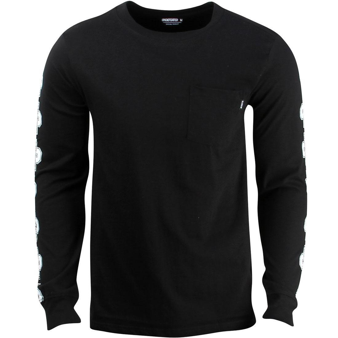 Undefeated Men UNDFTD U Long Sleeve Shirt (black)