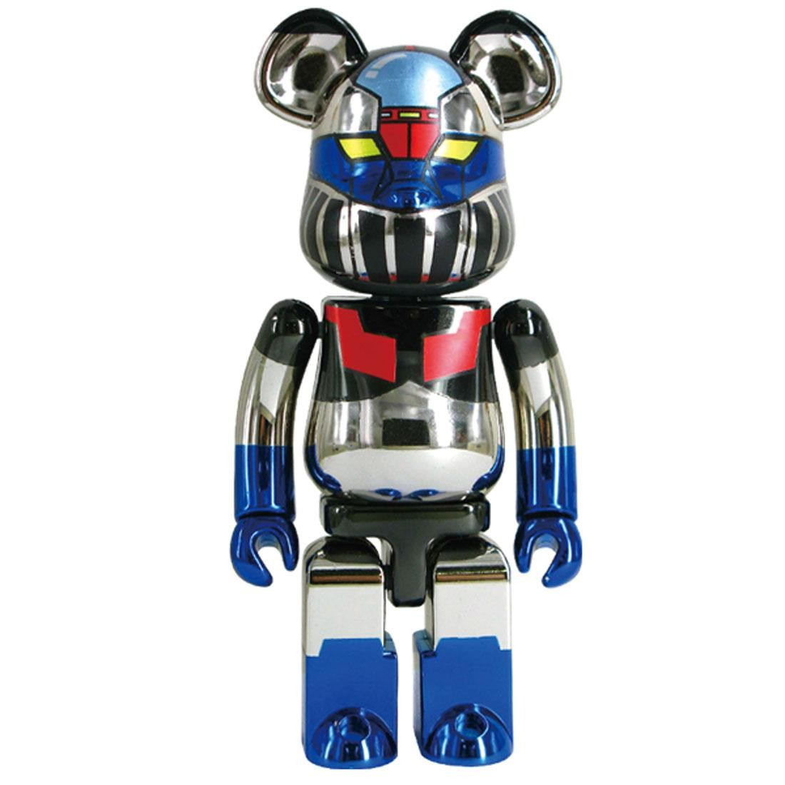 Medicom Mazinger Z 200% Chogokin Bearbrick Super Alloy (chrome)
