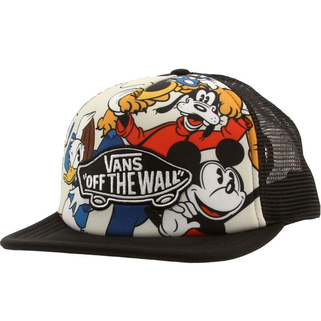 Vans x Disney Classic Patch Trucker Cap - Mickey   Friends (black ... a2c627f8d14