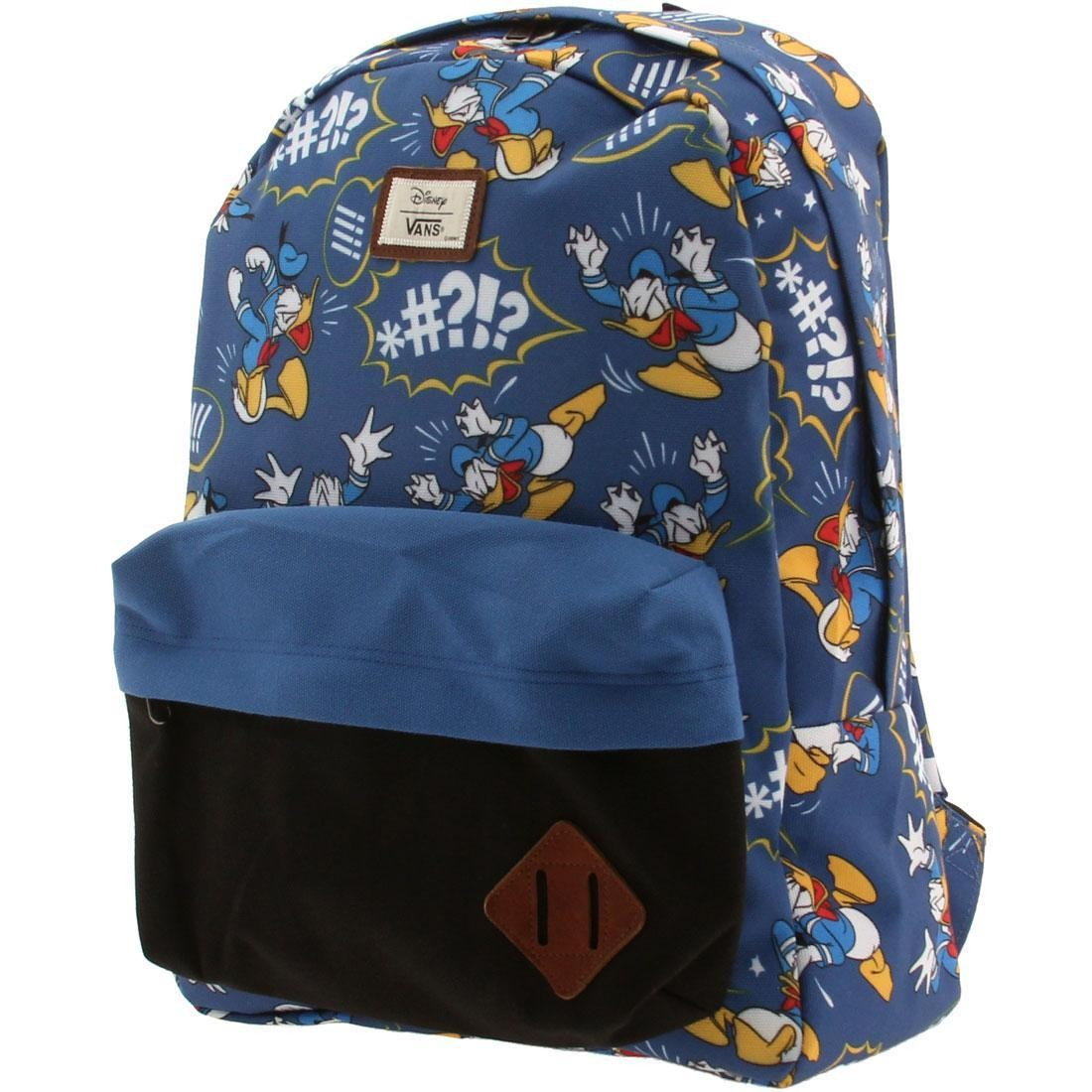 Vans x Disney Old Skool II Backpack - Donald Duck blue 2f2cee62ead3d