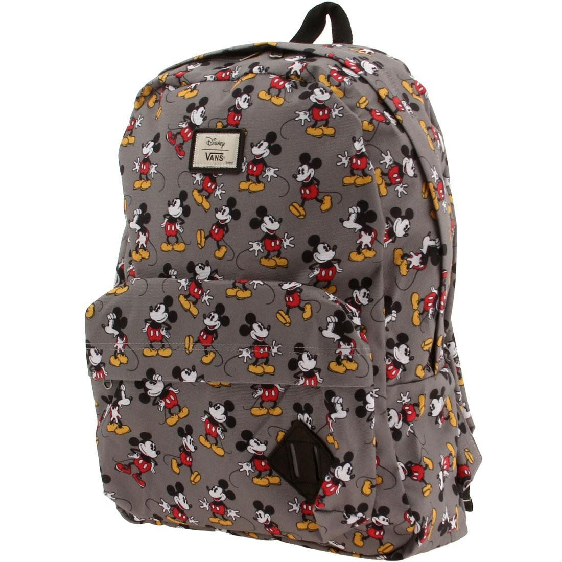 Vans x Disney Old Skool II Backpack - Mickey Mouse gray 9963ca99ee4e5