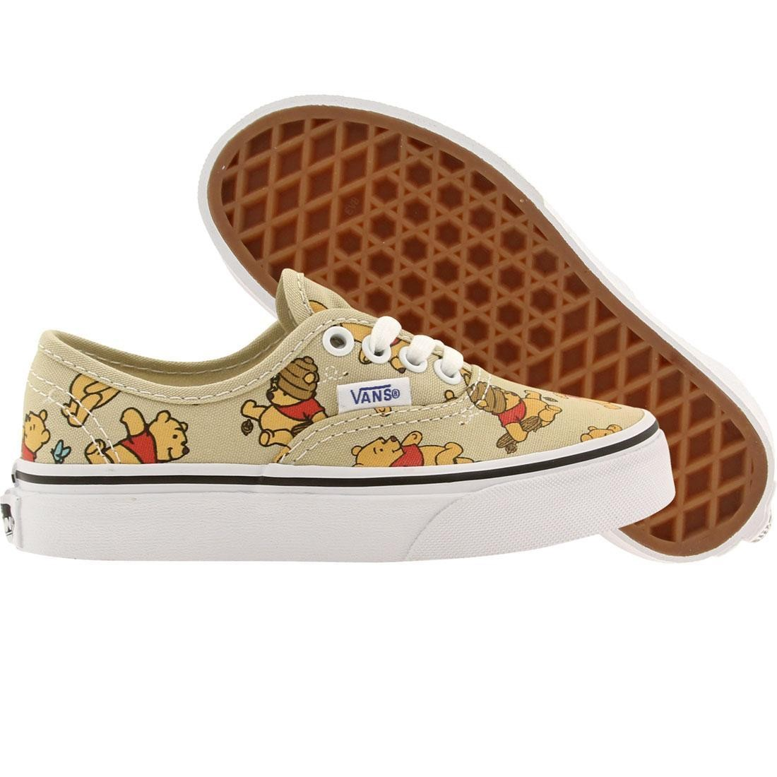 Vans x Disney Little Kids Authentic - Winnie The Pooh (khaki)