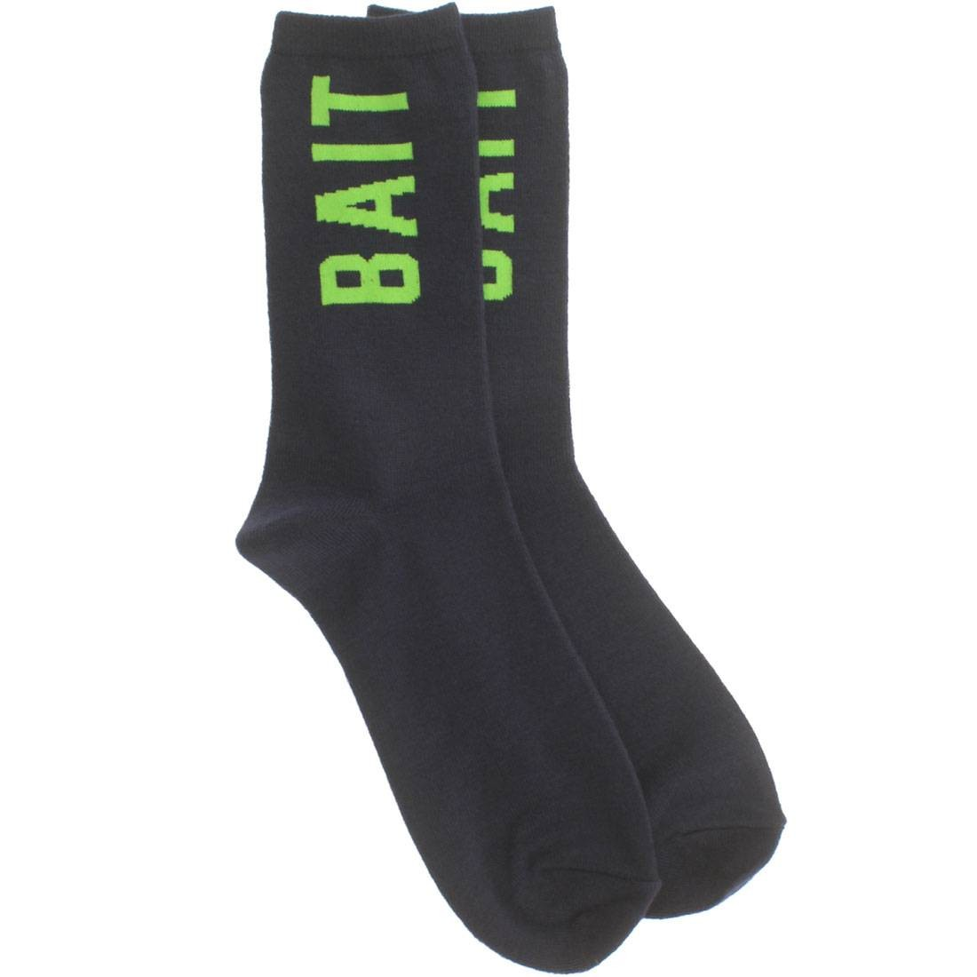 BAIT Logo Lightweight Crew Socks (navy) 1S