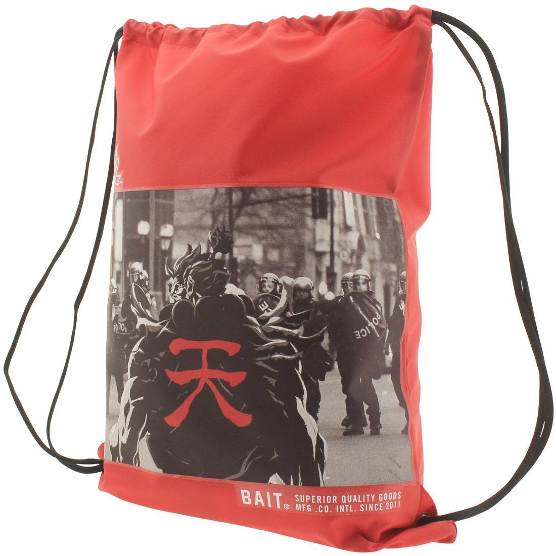 BAIT x Street Fighter Akuma SDCC Exclusive Sachet Bag (red)