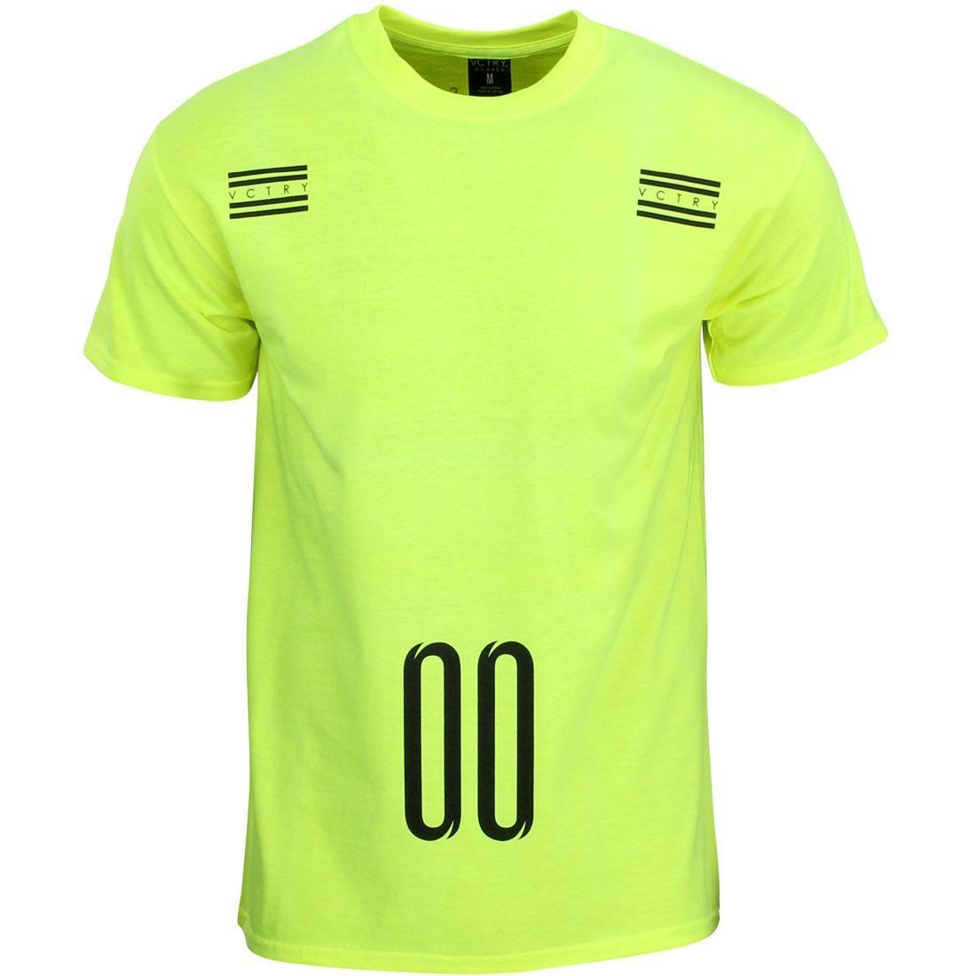 10 Deep Penalty Tee (green / neon)