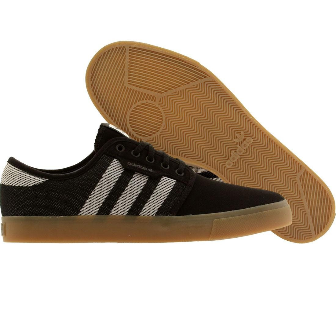 Adidas Skate Men Seeley Woven black running white gum 9f014c101