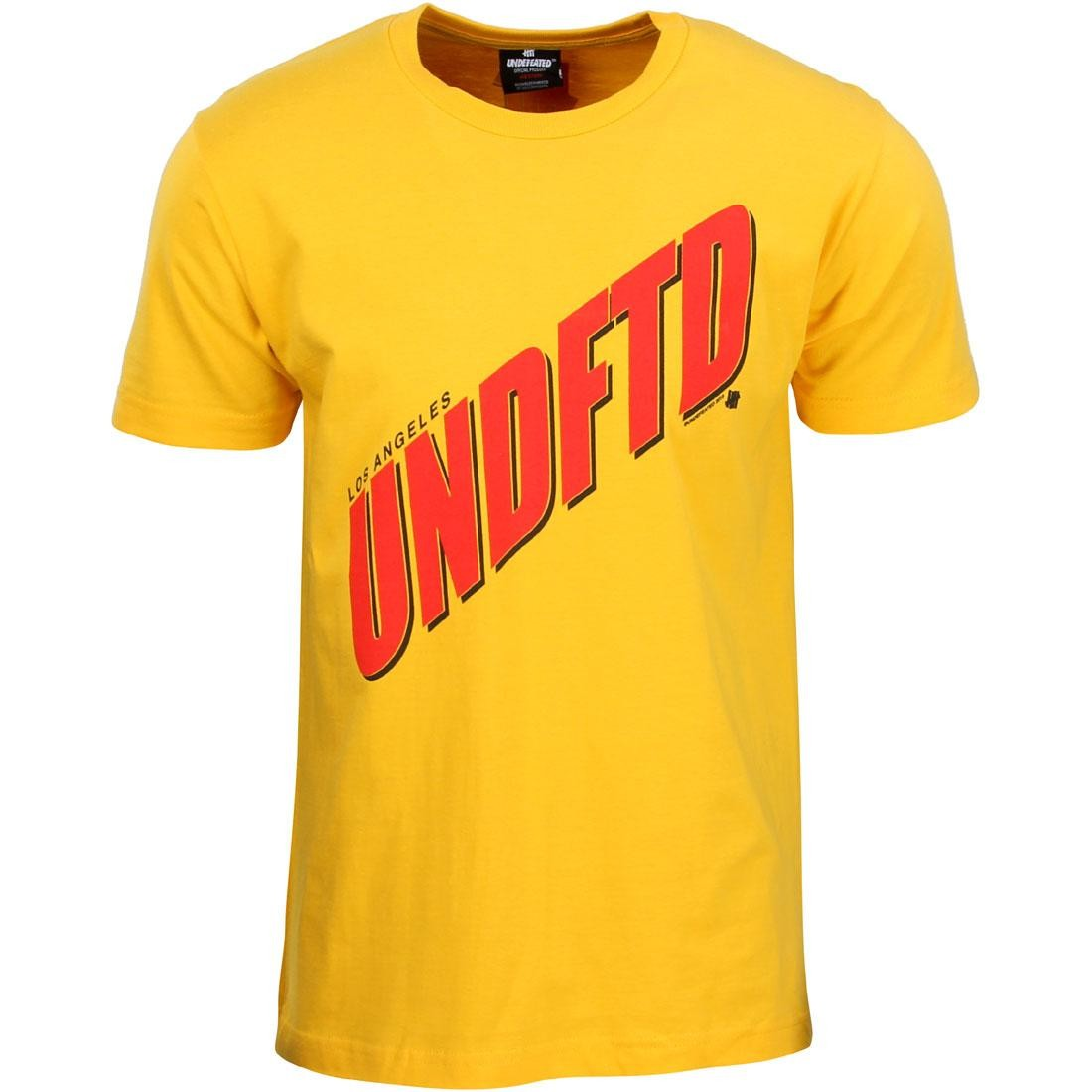 Undefeated Men Streak Tee (gold)