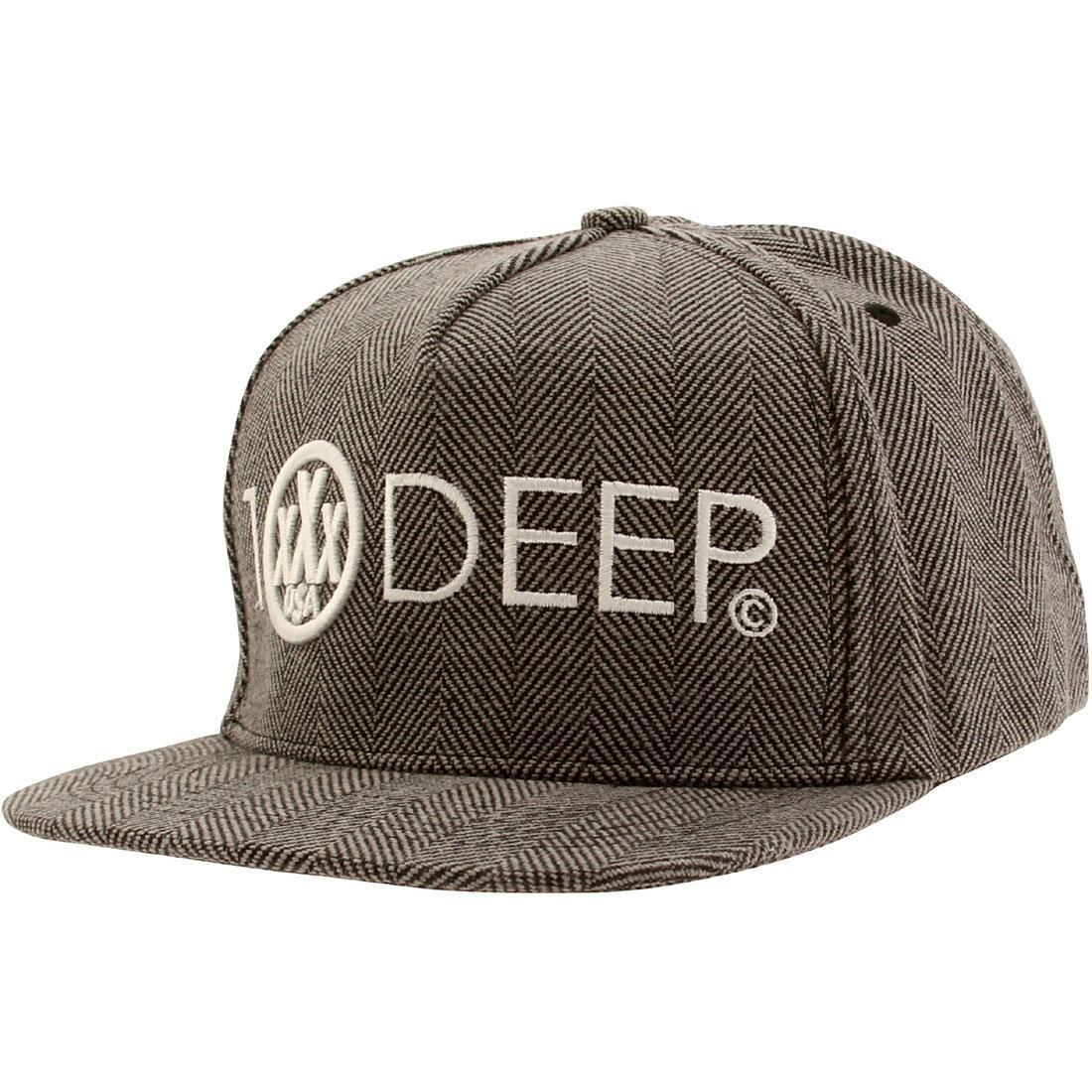 10 Deep Integral Snapback (gray)