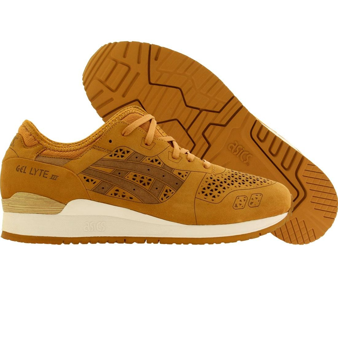 online retailer 85560 c1320 Asics Tiger Men Gel-Lyte III Lasercut - Alpha Pack (tan / tan)