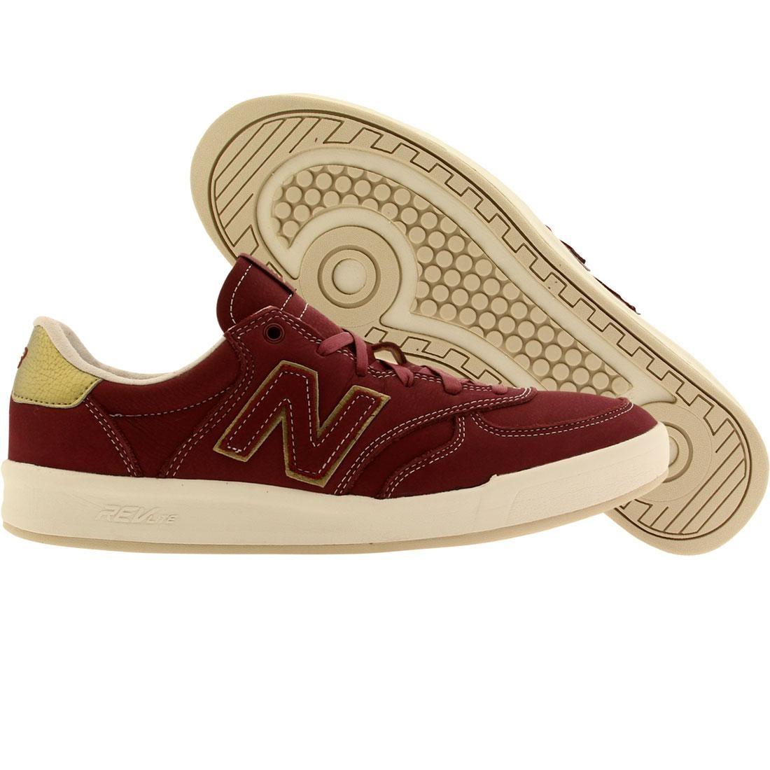 New Balance Men 300 Classics Court red