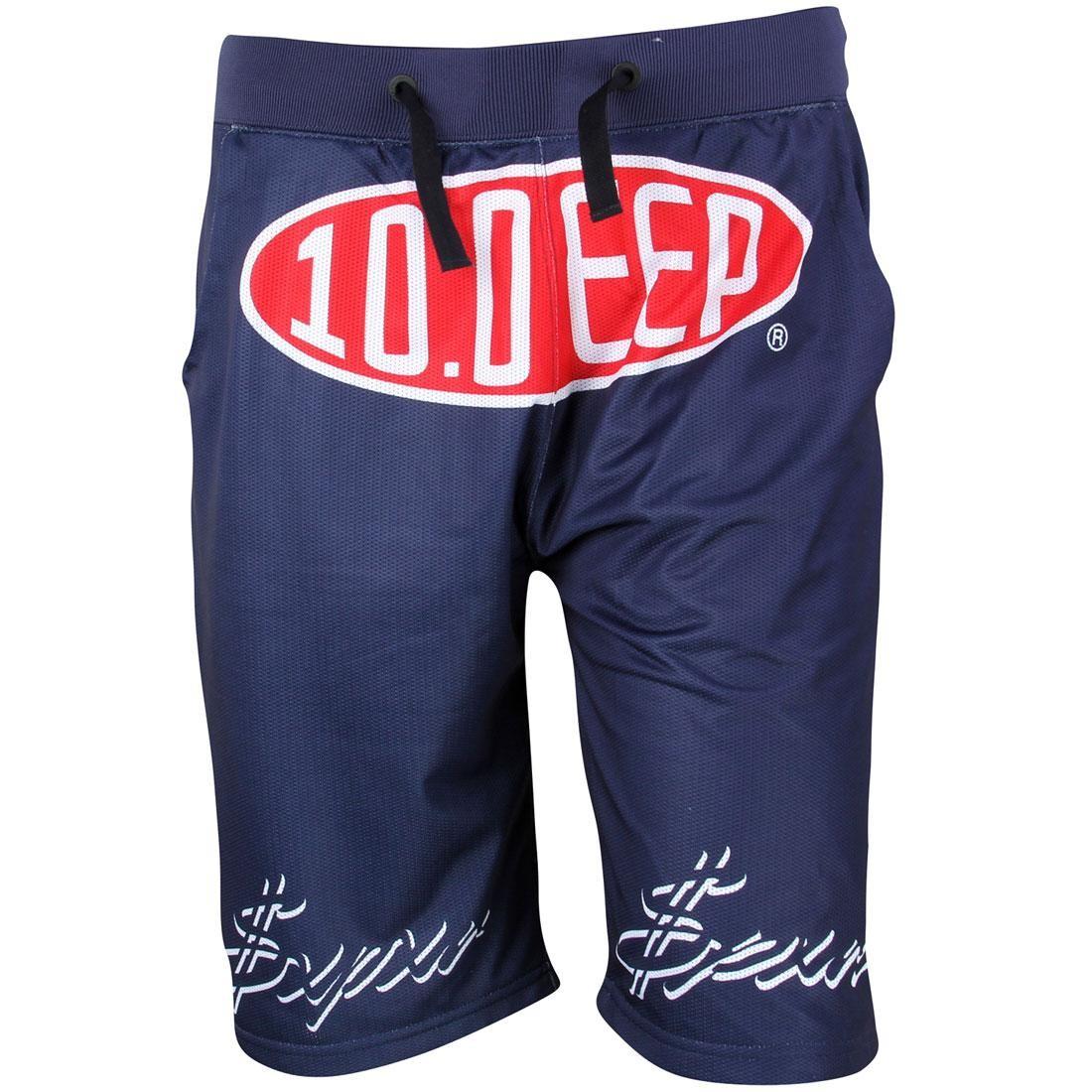 10 Deep Men Speedway Mesh Shorts (navy)