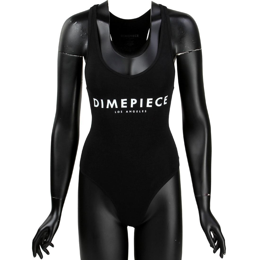 Dimepiece Women Dimepiece Thong Bodysuit (black)