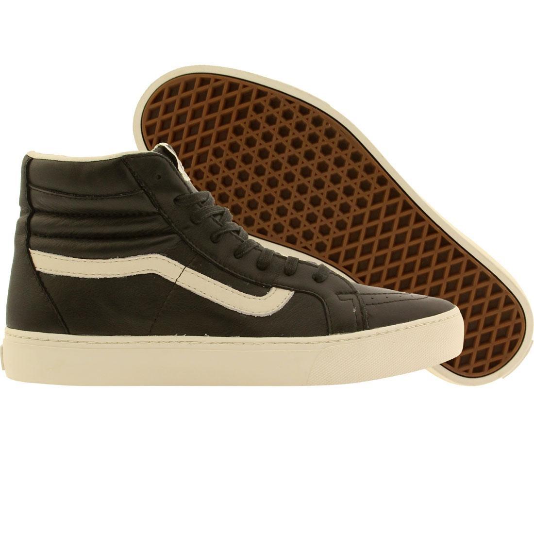2ef6d6326ebf Vans Men Sk8-Hi Cup CA - Leather black whisper white