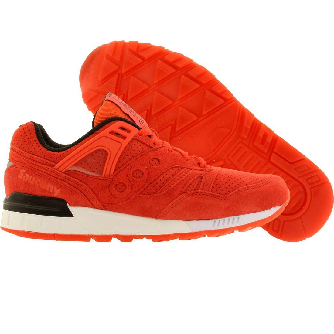 reputable site 0ddb4 61bb6 Saucony Men Grid SD - No Chill Pack red