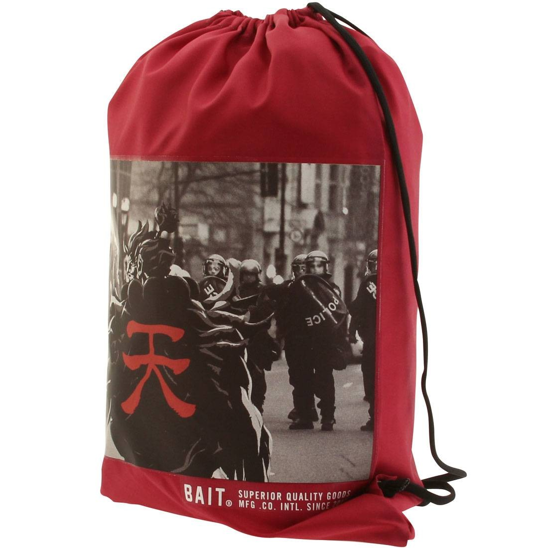 BAIT x Street Fighter Akuma SDCC Exclusive Sachet Bag (burgundy)
