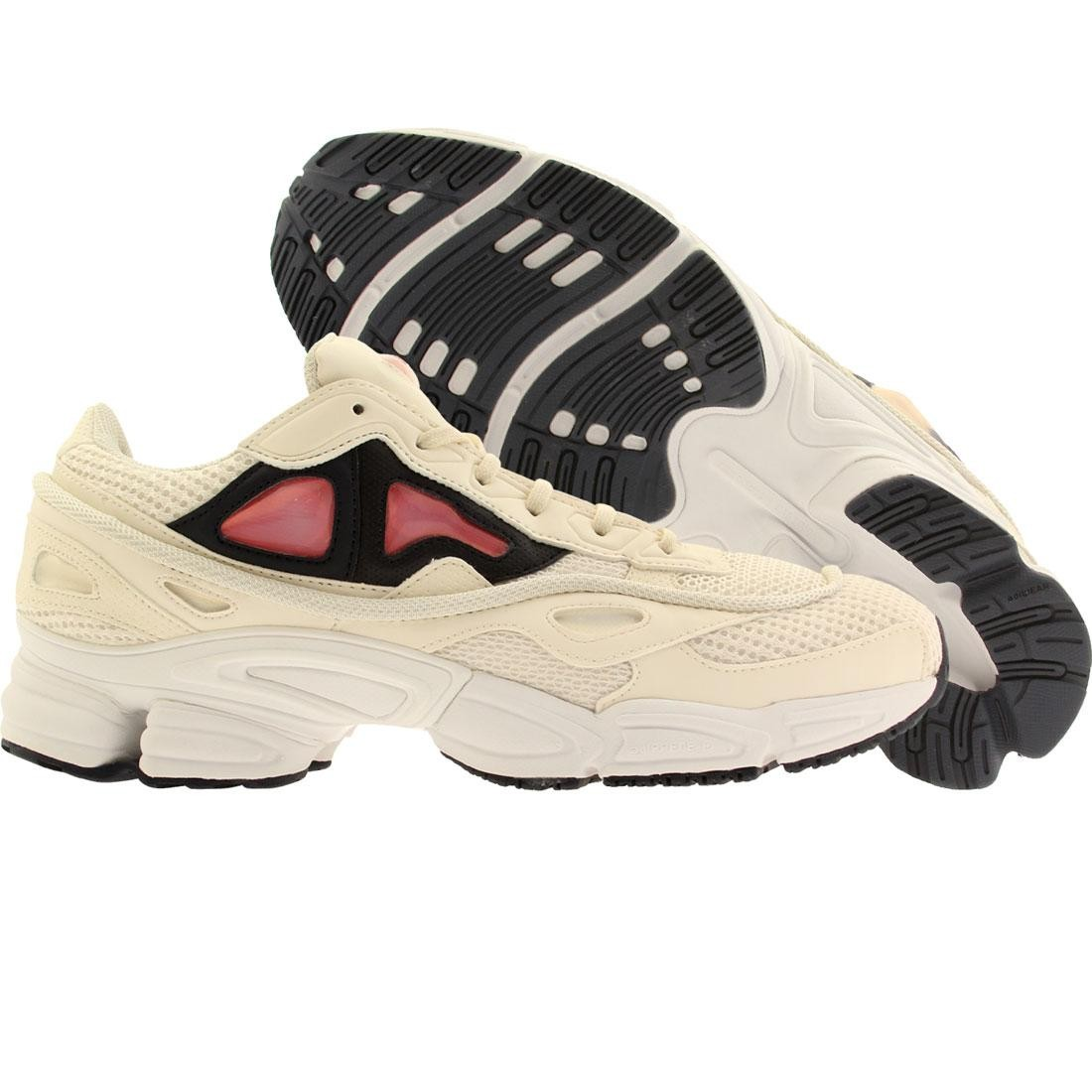 Adidas x Raf Simons Men Ozweego 2 (white / chalk white / bold orange / navy)