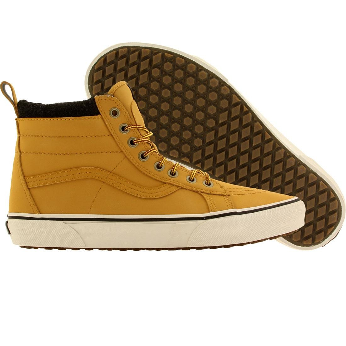 76499780d445b9 Vans Men Sk8-Hi MTE (tan   honey   leather)