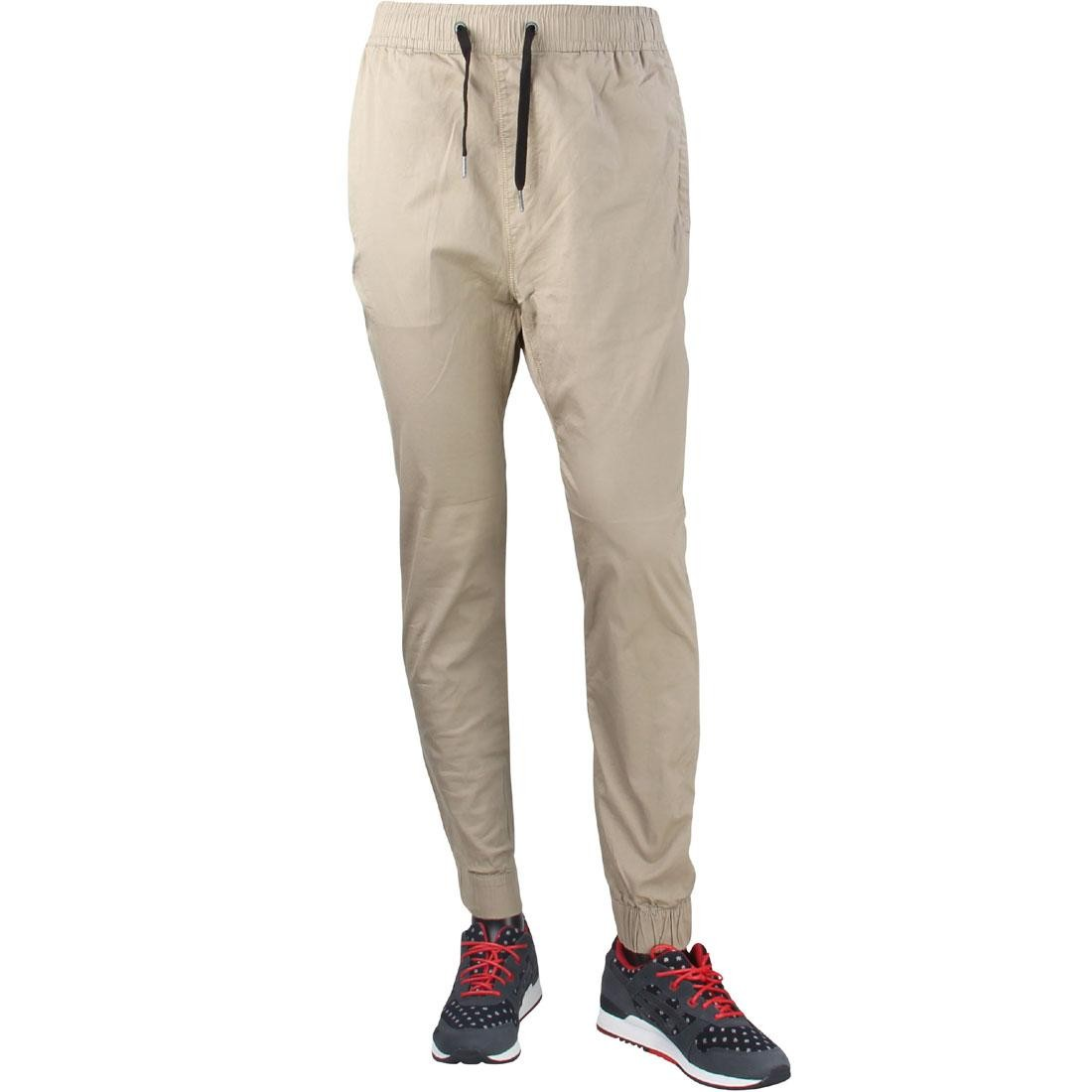 Zanerobe Men Montage Dropshot Jogger Pants (tan)