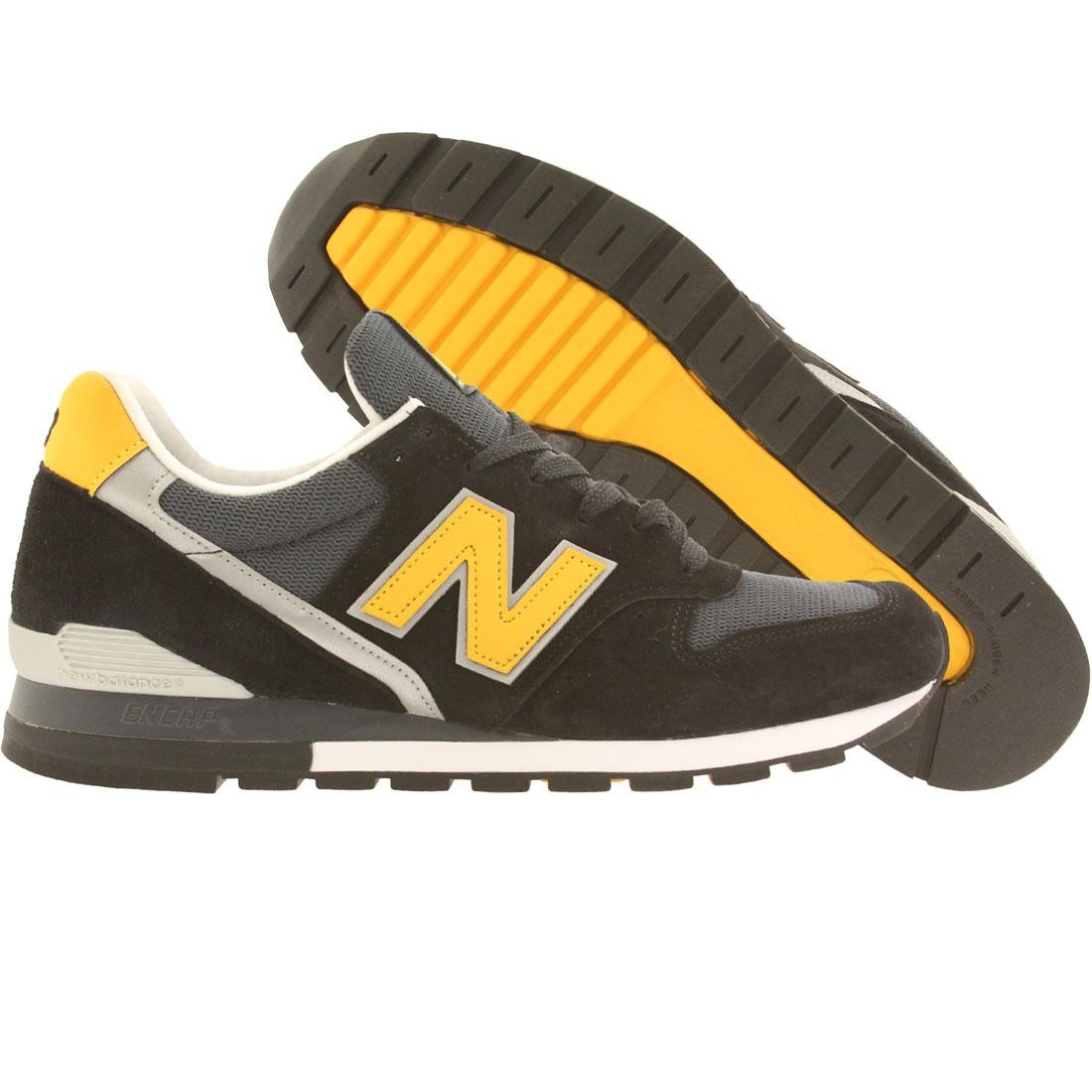 online store 6d1d5 e8f63 New Balance Men 996 Connoisseur Ski M996CSMI - Made In USA (black / yellow  / silver)