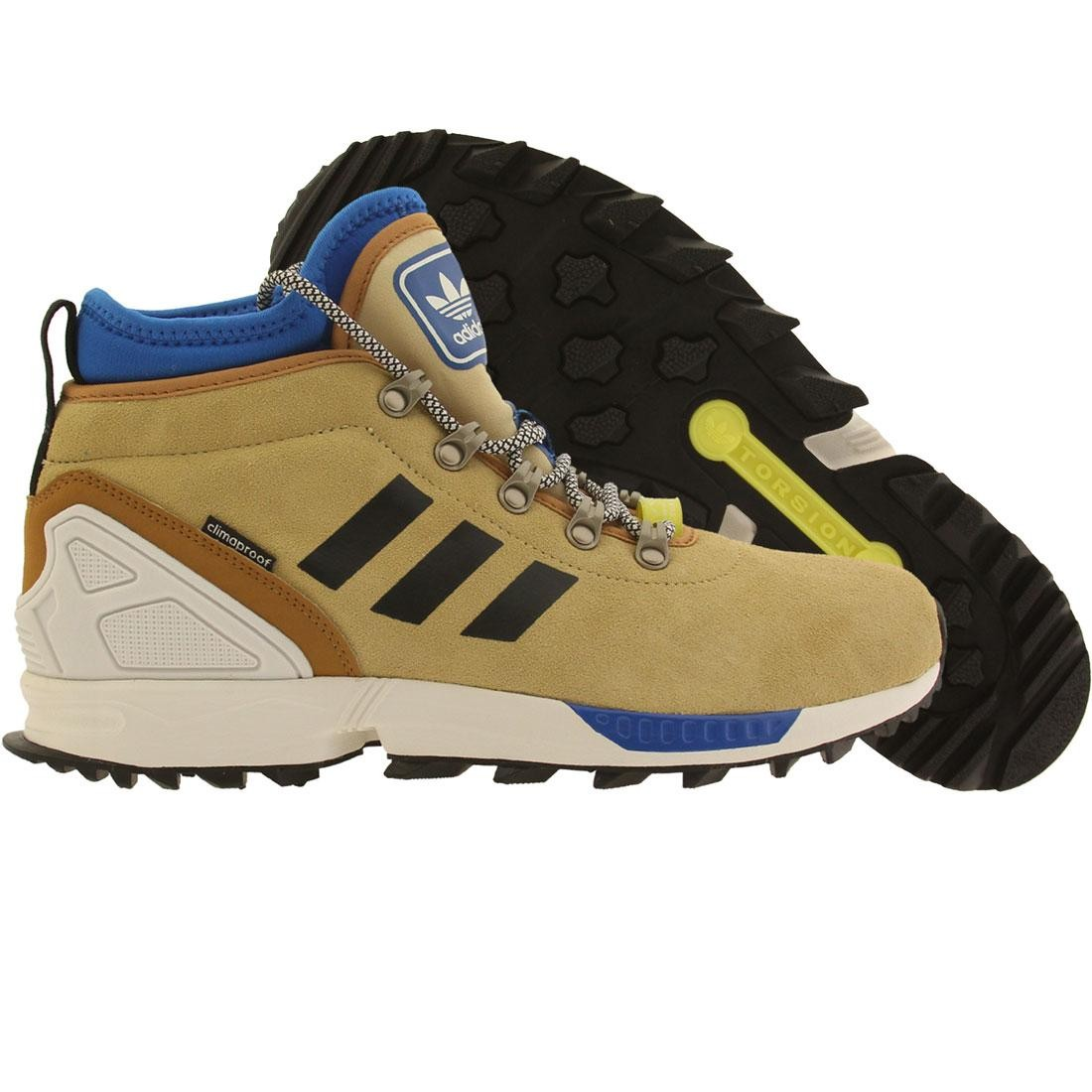 wholesale dealer 157f4 2264f Adidas Men ZX Flux Winter (tan / sand / core black / running white)