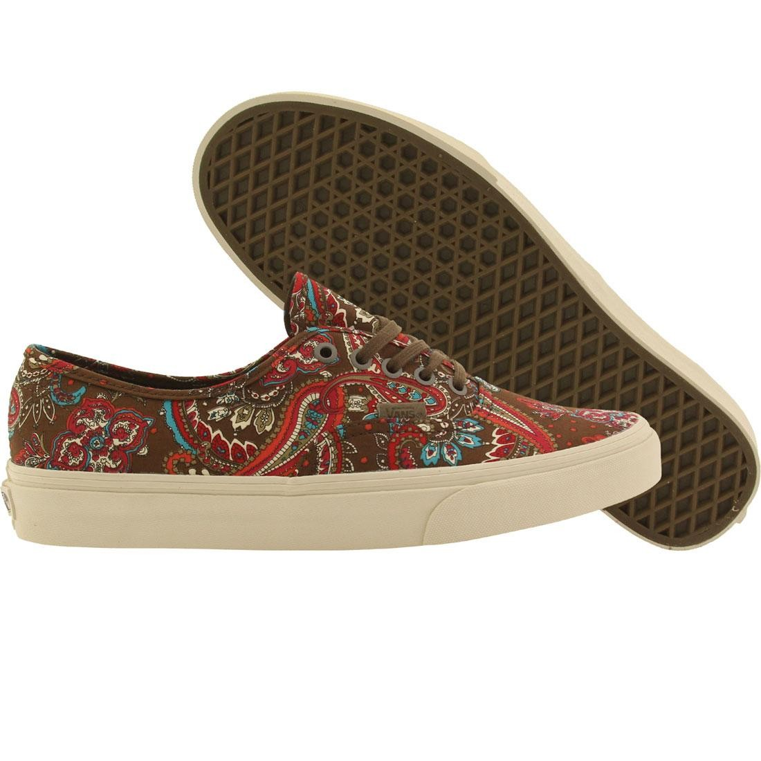 1beb880a049f Vans Men Authentic California - Paisley (green   olive)