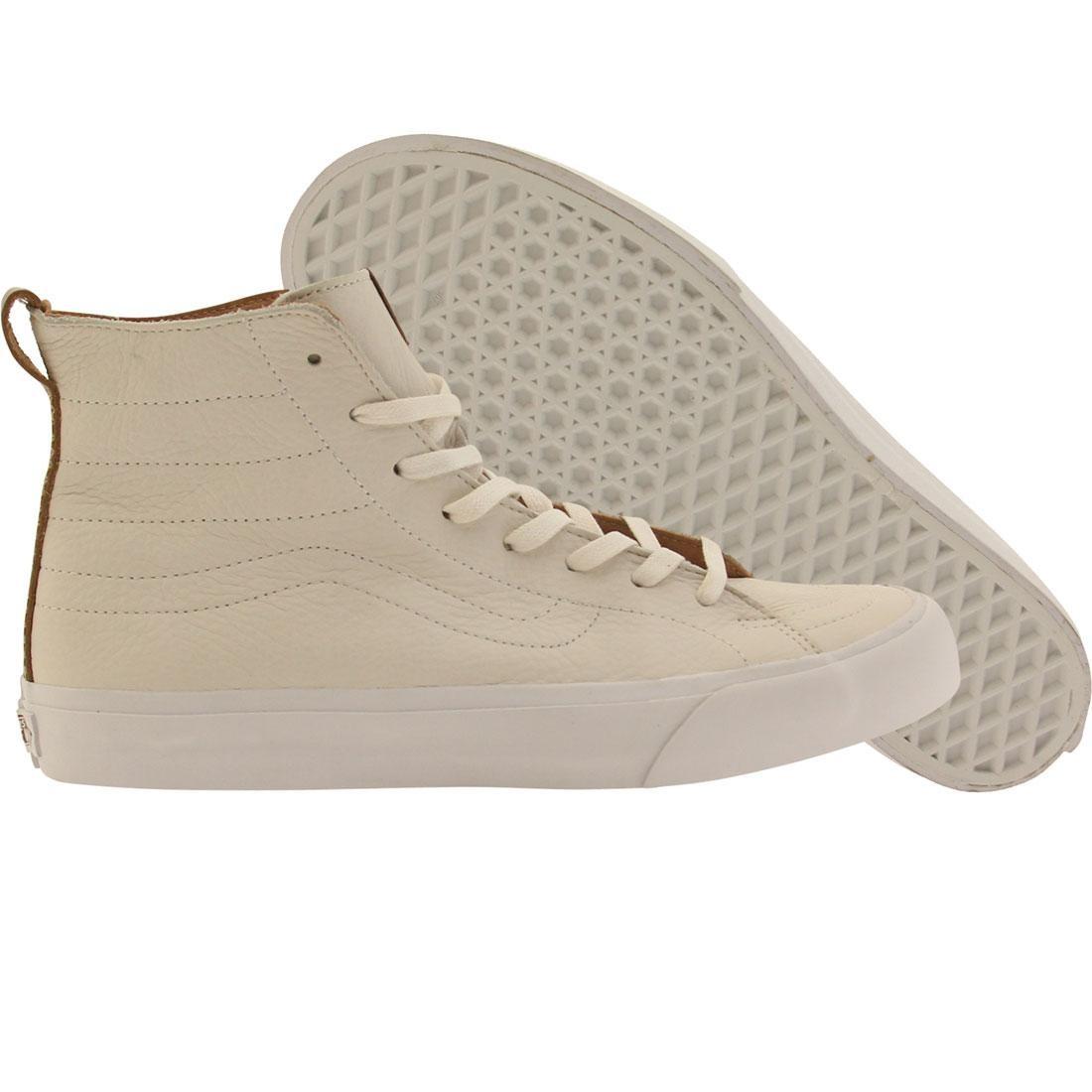 Vans Men Sk8-Hi Deconstructed California - Premium Leather (white / winter)