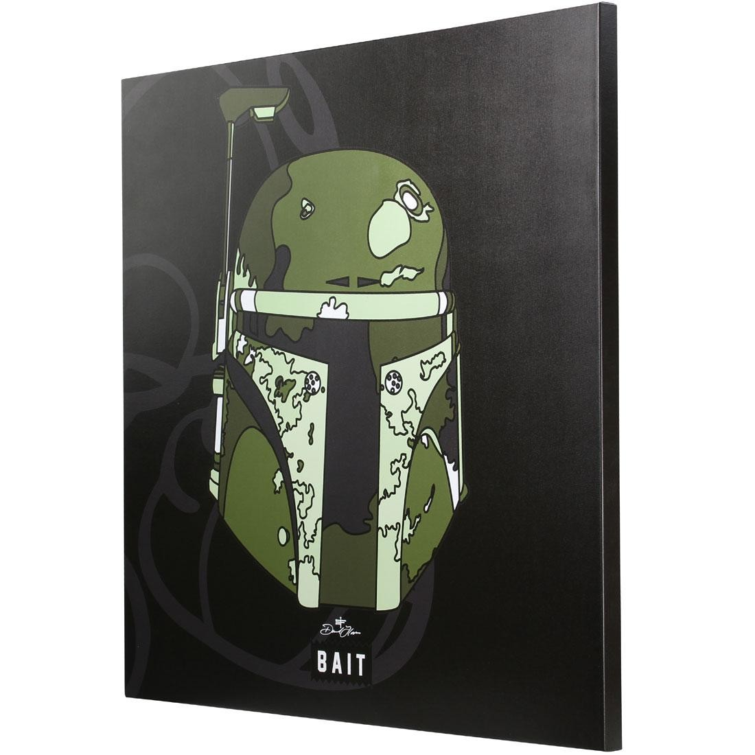 BAIT x David Flores Star Wars 36 Inch Canvas - Boba Fett (black)