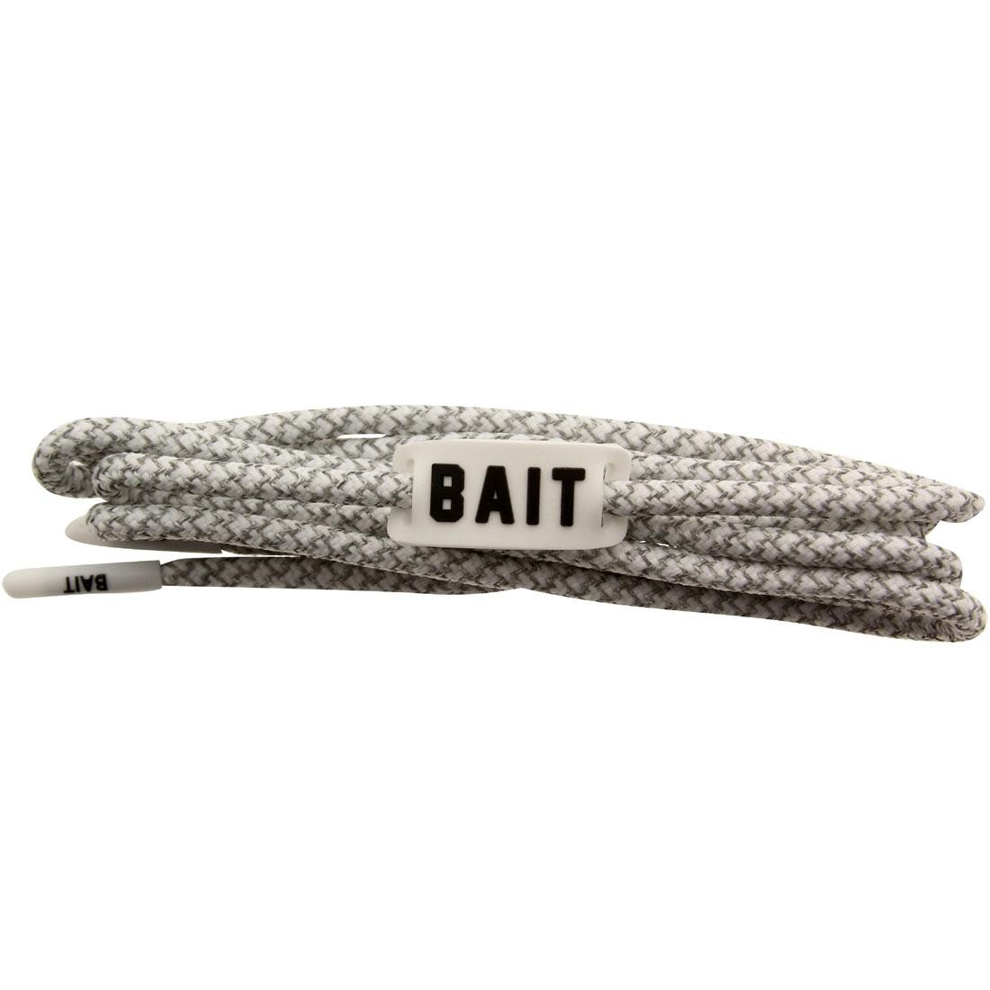 BAIT Deluxe 3M Rope Shoelaces (white / 3M / white)