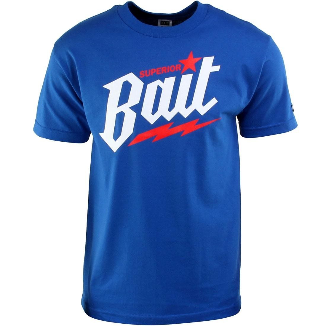 BAIT Superior BAIT Tee (royal blue / white / red)
