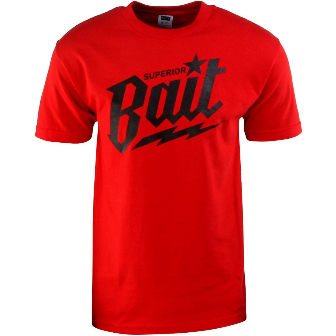 BAIT Superior BAIT Tee (red / black / black)