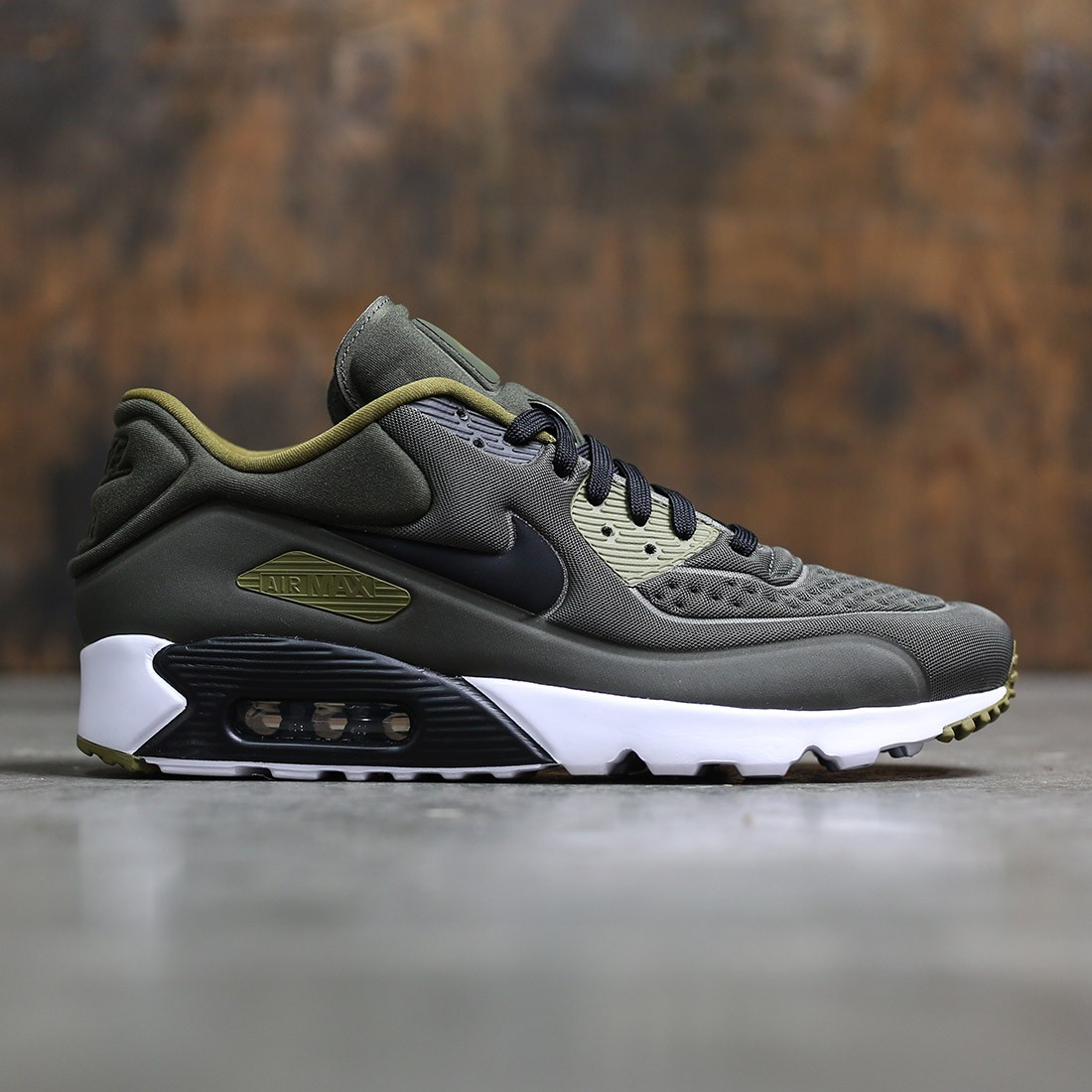 1b8cc38a1735 Nike Men Air Max 90 Ultra Se (cargo khaki   black-olive flak-white)