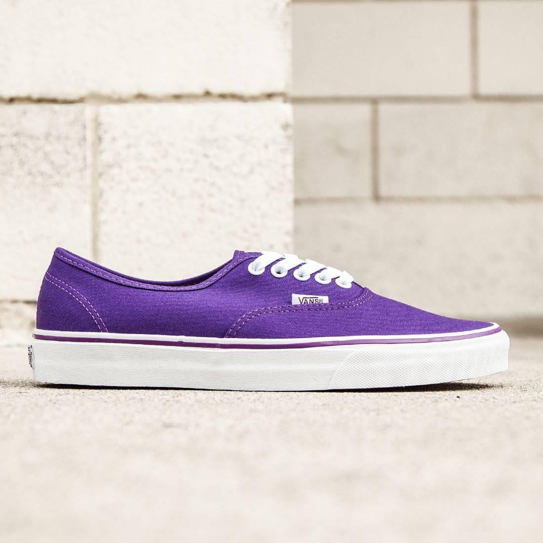 Vans Men Authentic - Pop Check (purple / imperial)