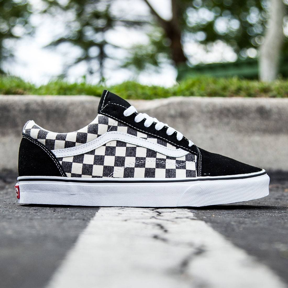 Vans Men Old Skool - Checkerboard black espresso 7f22c3c17