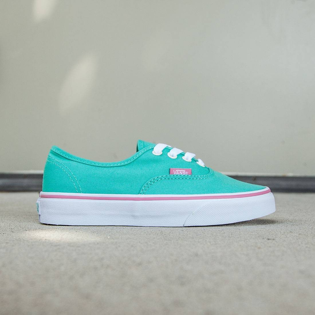 7b9297e270fd Vans Women Authentic - Iridescent Eyelets teal florida keys