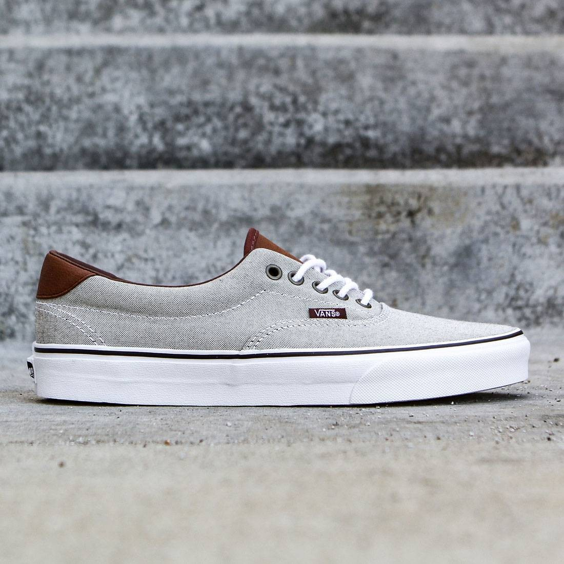 8911444908 Vans Men Era 59 - Oxford And Leather black true white