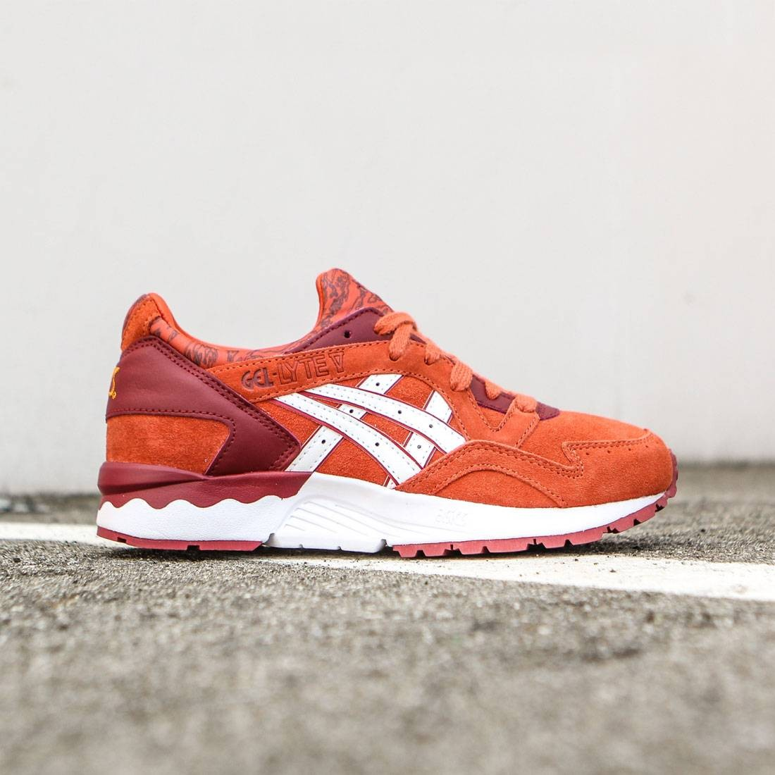 sale retailer 0aa23 c83a2 Asics Tiger Women Gel-Lyte V (red / chili / white)