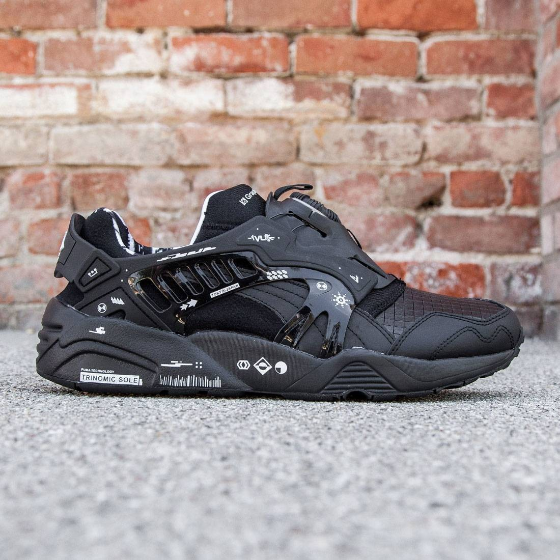 Puma x GraphersRock Men Disc Blaze (black) 77c8b23df