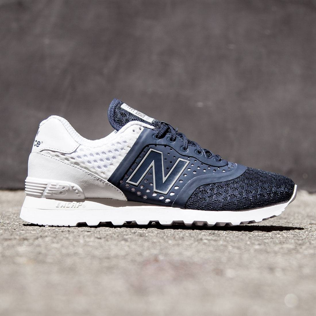 hot sales 9bfcc 83932 New Balance Men 574 Re-engineered Breathe MTL574MN (navy / white)